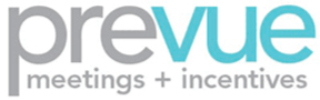 Prevue Meetings + Incentives Logo